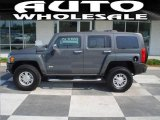 2009 Graphite Metallic Hummer H3  #15633388