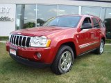 2006 Inferno Red Crystal Pearl Jeep Grand Cherokee Limited 4x4 #15624620