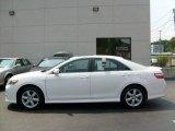 2008 Super White Toyota Camry SE #15582303