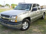 2003 Light Pewter Metallic Chevrolet Silverado 1500 LS Extended Cab #1532138