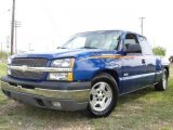 2003 Arrival Blue Metallic Chevrolet Silverado 1500 LS Extended Cab #1532220