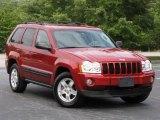 2006 Inferno Red Crystal Pearl Jeep Grand Cherokee Laredo #15692025