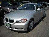 2008 Titanium Silver Metallic BMW 3 Series 328i Sedan #15693679