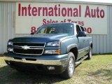 2006 Blue Granite Metallic Chevrolet Silverado 1500 Z71 Crew Cab 4x4 #1532275