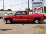 2001 Victory Red Chevrolet Silverado 1500 LS Extended Cab #15719775