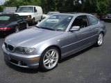 2004 Silver Grey Metallic BMW 3 Series 330i Coupe #15701028
