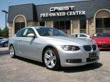 2007 Titanium Silver Metallic BMW 3 Series 335i Coupe #15718338