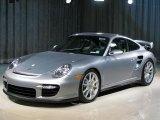 2008 GT Silver Metallic Porsche 911 GT2 #15721118