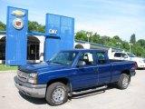 2003 Arrival Blue Metallic Chevrolet Silverado 1500 Extended Cab 4x4 #15707748