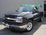 2005 Black Chevrolet Silverado 1500 Regular Cab #15702486