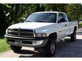 2001 Bright White Dodge Ram 2500 ST Quad Cab 4x4 #15713499