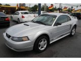 2002 Satin Silver Metallic Ford Mustang V6 Coupe #15717307