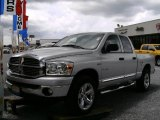 2008 Bright Silver Metallic Dodge Ram 1500 Big Horn Edition Quad Cab 4x4 #15708169
