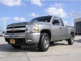 2008 Graystone Metallic Chevrolet Silverado 1500 LT Extended Cab #1558202
