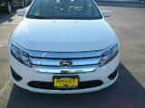 2010 White Suede Ford Fusion SE #15708762