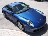 2007 Cobalt Blue Metallic Porsche 911 Carrera Coupe #15704087