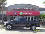 2007 Brilliant Black Crystal Pearl Dodge Ram 1500 Laramie Quad Cab #15706674