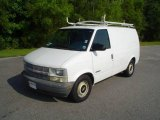1999 Ivory White Chevrolet Astro Commercial Van #15781528