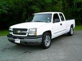 2005 Summit White Chevrolet Silverado 1500 LS Extended Cab #15781559