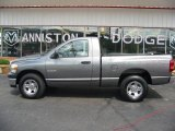 2008 Mineral Gray Metallic Dodge Ram 1500 SXT Regular Cab #15781732
