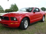 2007 Torch Red Ford Mustang V6 Deluxe Coupe #1532269