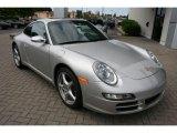 2008 Arctic Silver Metallic Porsche 911 Carrera Coupe #15781648