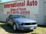 2007 Windveil Blue Metallic Ford Mustang V6 Deluxe Convertible #1532267
