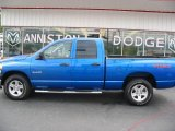 Electric Blue Pearl Dodge Ram 1500 in 2008