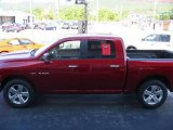 2009 Inferno Red Crystal Pearl Dodge Ram 1500 Big Horn Edition Crew Cab #15781694
