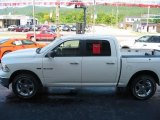 2009 Stone White Dodge Ram 1500 Big Horn Edition Crew Cab #15781669