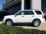 2009 Oxford White Ford Escape Hybrid #1532922