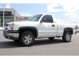 2003 Summit White Chevrolet Silverado 1500 LS Regular Cab 4x4 #15812294
