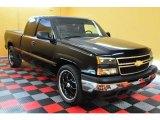 2006 Black Chevrolet Silverado 1500 LS Extended Cab #15814113