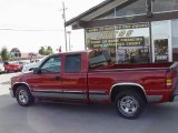2001 Victory Red Chevrolet Silverado 1500 LS Extended Cab #15811364