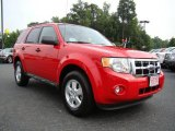 2009 Torch Red Ford Escape XLT #15808109