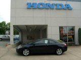 2007 Nighthawk Black Pearl Honda Civic EX Coupe #15803419