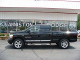 2006 Black Dodge Ram 1500 Laramie Quad Cab 4x4 #15816910