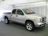 2008 Bright Silver Metallic Dodge Ram 1500 Big Horn Edition Quad Cab 4x4 #15809751