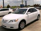 2008 Super White Toyota Camry XLE #15804434