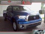 2008 Blue Streak Metallic Toyota Tundra SR5 Double Cab #15855611