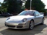 2007 Arctic Silver Metallic Porsche 911 Carrera S Coupe #15858938