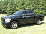 2007 Brilliant Black Crystal Pearl Dodge Ram 3500 SLT Quad Cab #15872359