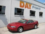 2003 Redfire Metallic Ford Mustang V6 Convertible #15866261