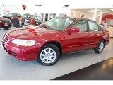2002 Firepepper Red Pearl Honda Accord SE Sedan #15869142