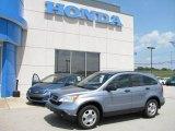 2008 Glacier Blue Metallic Honda CR-V LX 4WD #15861025