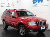 2002 Inferno Red Tinted Pearlcoat Jeep Grand Cherokee Limited 4x4 #15877058