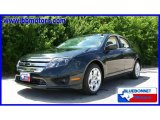 2010 Atlantis Green Metallic Ford Fusion SE #15864509