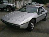 1986 Pontiac Fiero Silver