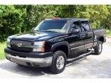 2003 Black Chevrolet Silverado 2500HD LS Crew Cab 4x4 #15914680