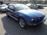 2006 Vista Blue Metallic Ford Mustang V6 Premium Convertible #15916724